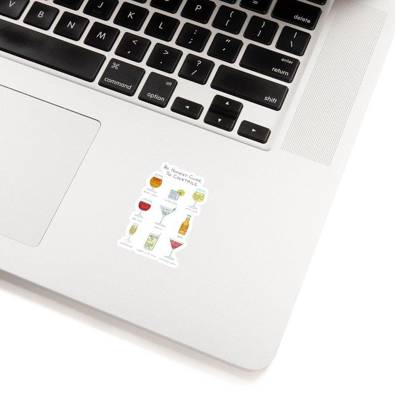 An Honest Guide to Cocktails Accessories Sticker by Prinstachaaz
