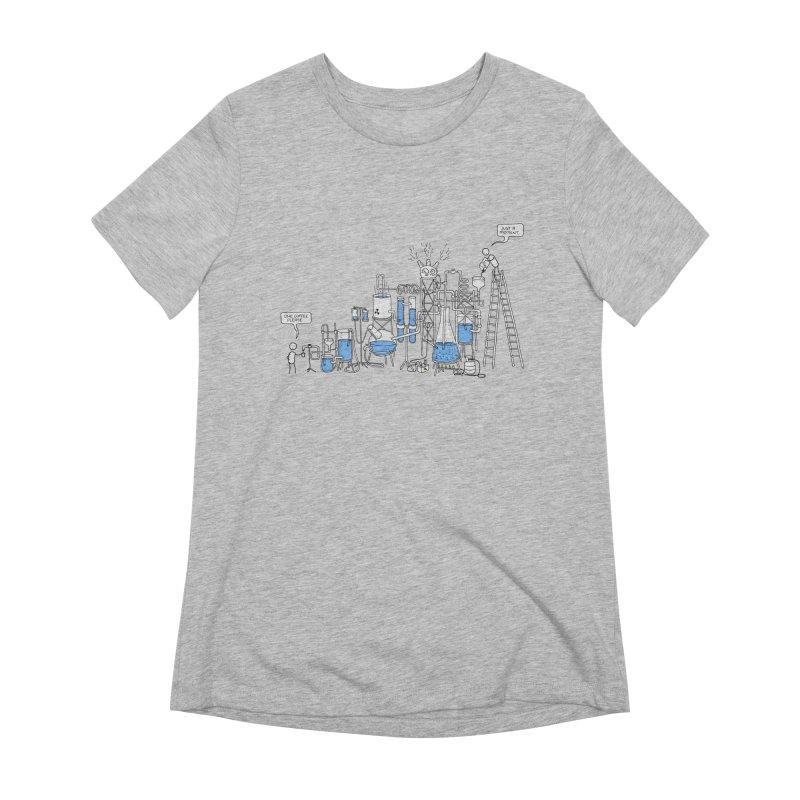 Coffee Please. Women's Extra Soft T-Shirt by Prinstachaaz