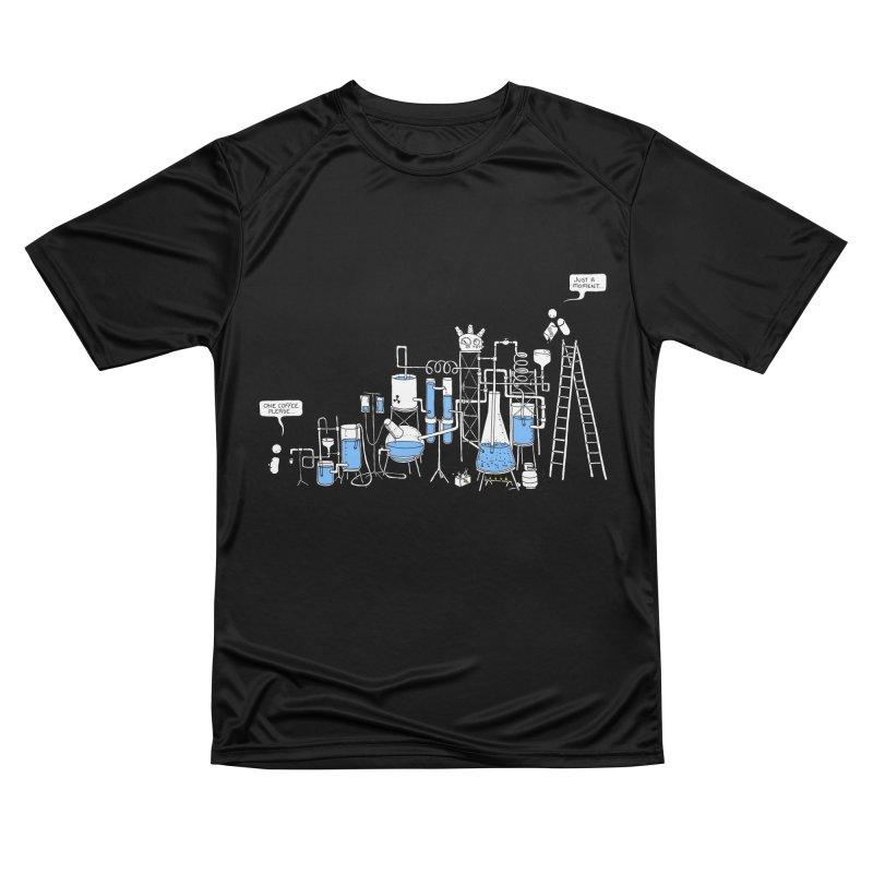 Coffee Please. Women's Performance Unisex T-Shirt by Prinstachaaz