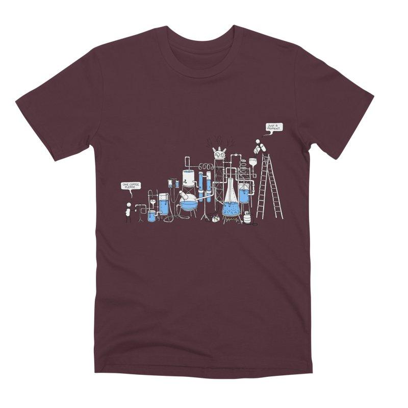 Coffee Please. Men's Premium T-Shirt by Prinstachaaz