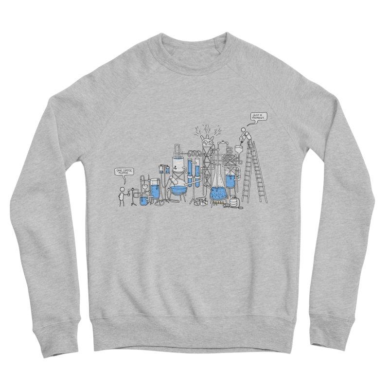 Coffee Please. Women's Sponge Fleece Sweatshirt by Prinstachaaz