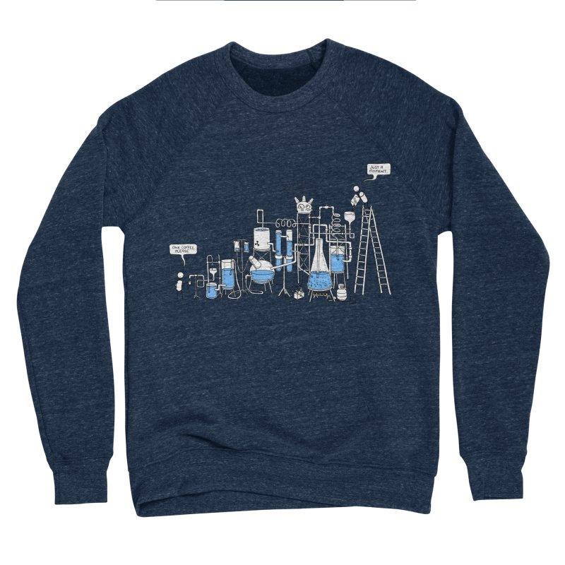 Coffee Please. Men's Sponge Fleece Sweatshirt by Prinstachaaz