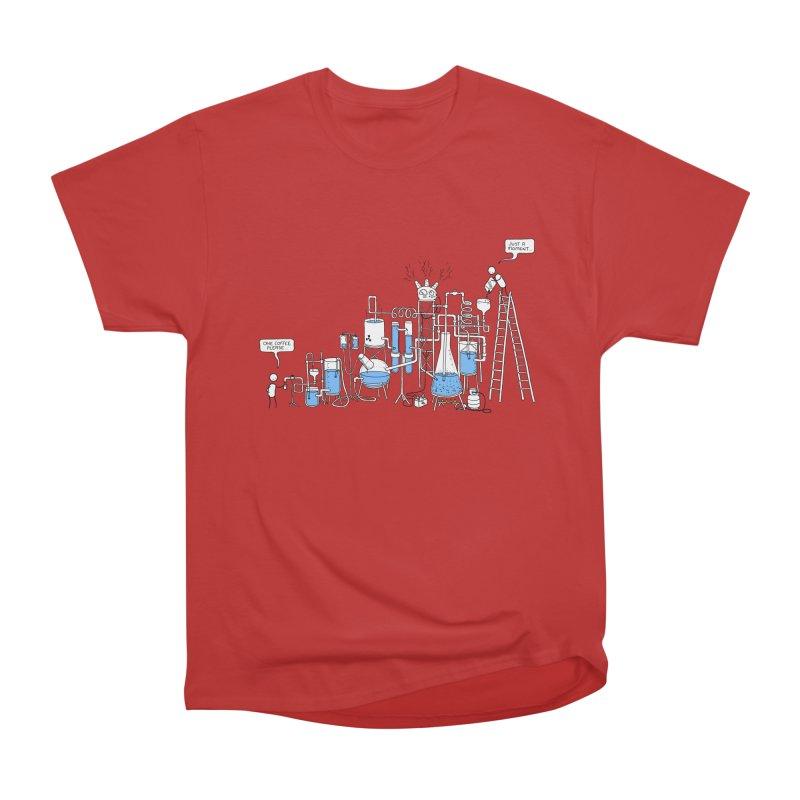 Coffee Please. Women's Heavyweight Unisex T-Shirt by Prinstachaaz