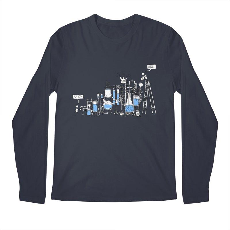 Coffee Please. Men's Regular Longsleeve T-Shirt by Prinstachaaz