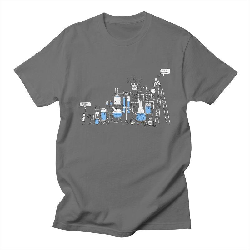 Coffee Please. Men's T-Shirt by Prinstachaaz