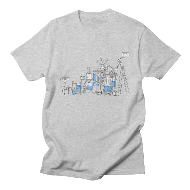Coffee Please. Men's Regular T-Shirt by Prinstachaaz