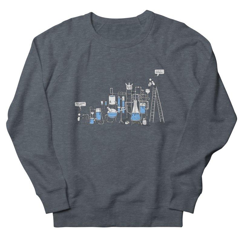 Coffee Please. Women's French Terry Sweatshirt by Prinstachaaz