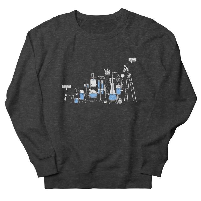 Coffee Please. Men's French Terry Sweatshirt by Prinstachaaz