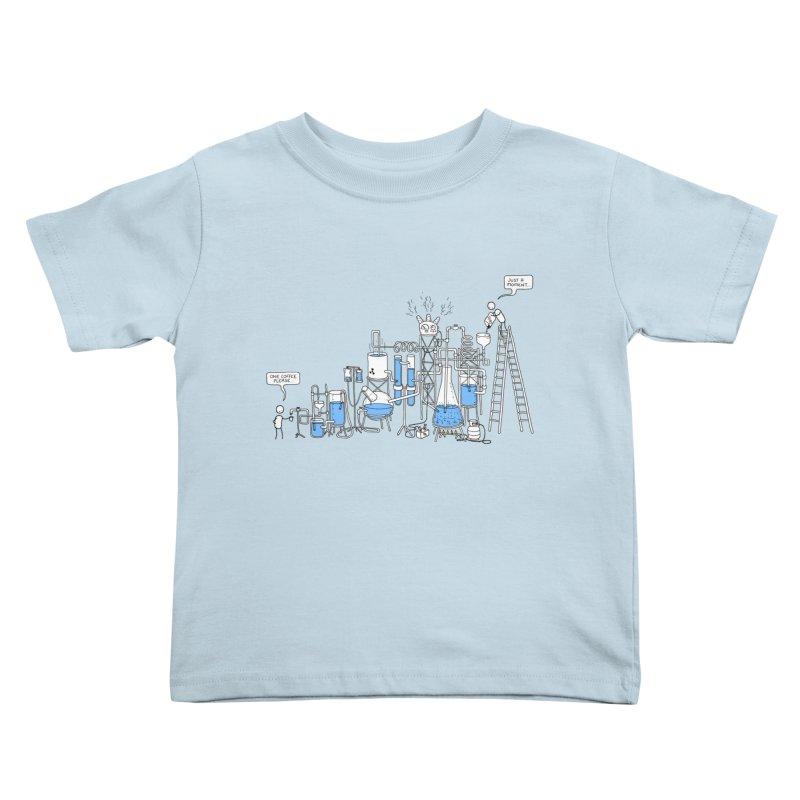 Coffee Please. Kids Toddler T-Shirt by Prinstachaaz
