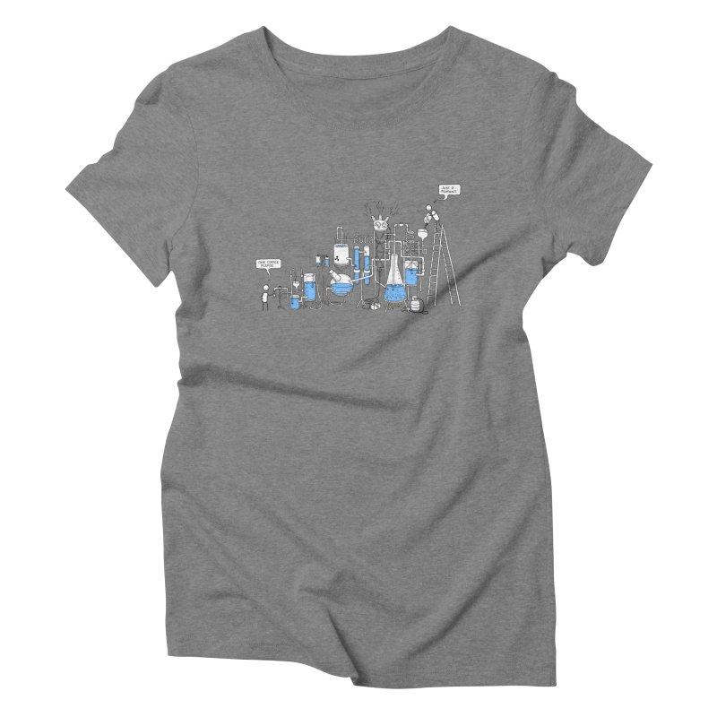 Coffee Please. Women's Triblend T-Shirt by Prinstachaaz