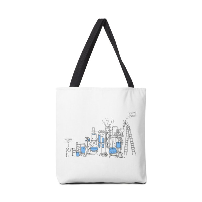 Coffee Please. Accessories Tote Bag Bag by Prinstachaaz