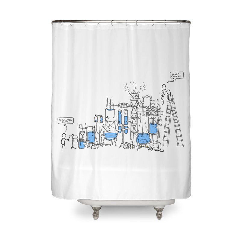 Coffee Please. Home Shower Curtain by Prinstachaaz