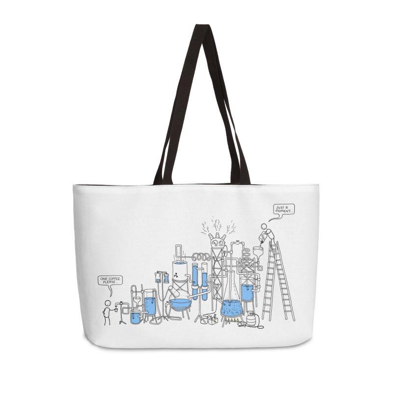 Coffee Please. Accessories Weekender Bag Bag by Prinstachaaz