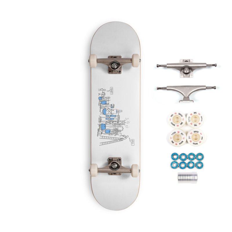 Coffee Please. Accessories Complete - Premium Skateboard by Prinstachaaz