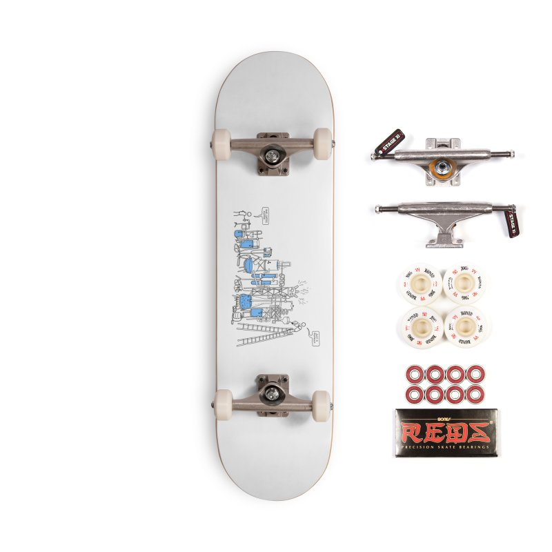 Coffee Please. Accessories Complete - Pro Skateboard by Prinstachaaz