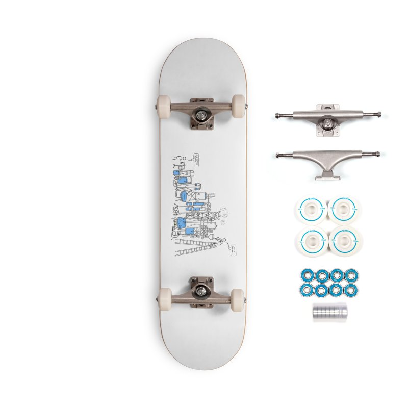 Coffee Please. Accessories Complete - Basic Skateboard by Prinstachaaz