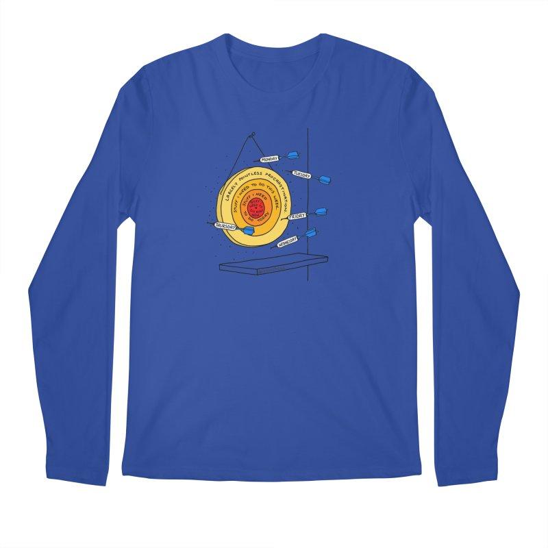 Nailed It. Men's Regular Longsleeve T-Shirt by Prinstachaaz