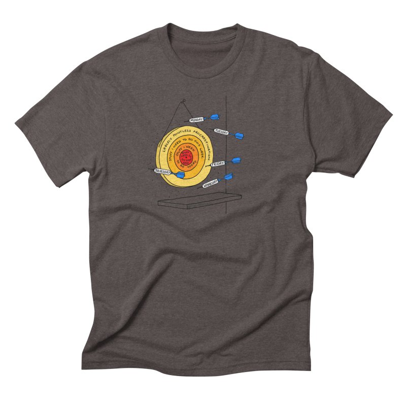 Nailed It. Men's Triblend T-Shirt by Prinstachaaz