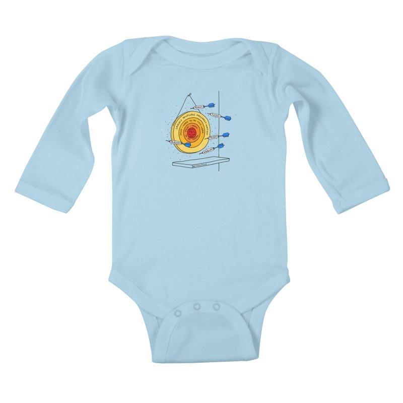 Nailed It. Kids Baby Longsleeve Bodysuit by Prinstachaaz
