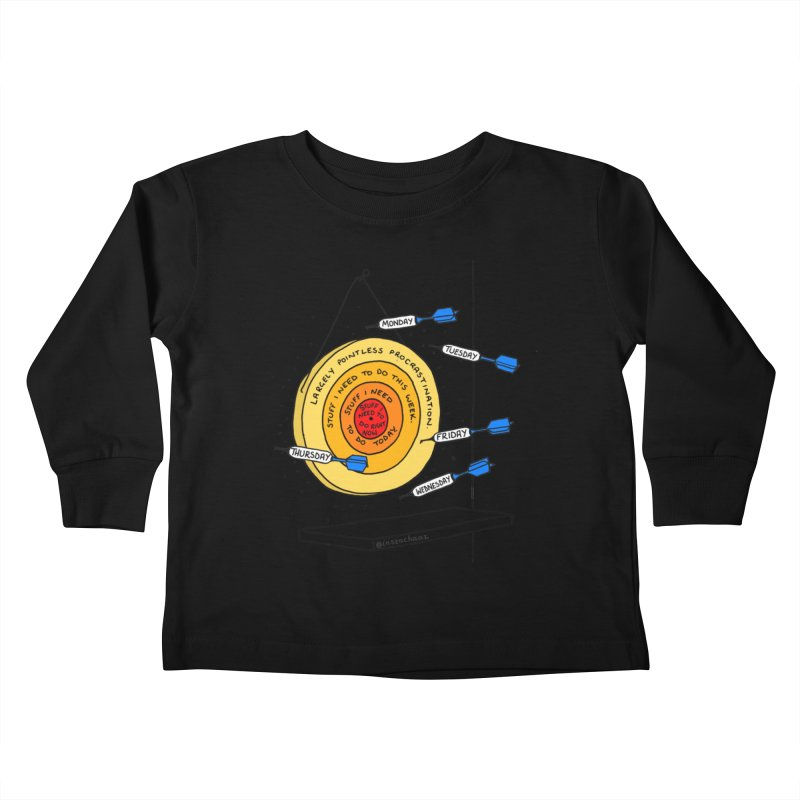 Nailed It. Kids Toddler Longsleeve T-Shirt by Prinstachaaz