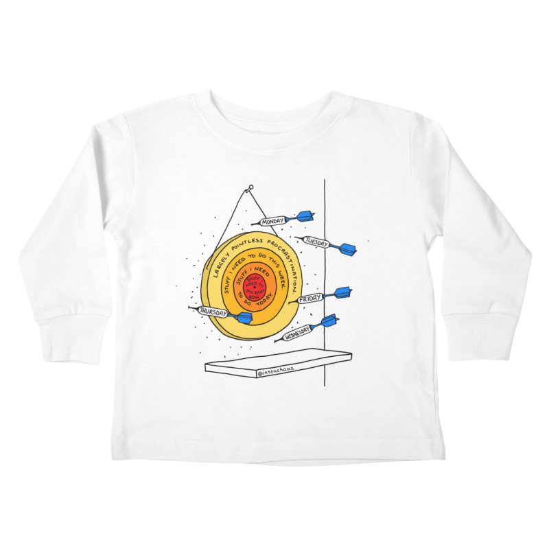 Nailed It. Kids Toddler Longsleeve T-Shirt by Prinstachaaz