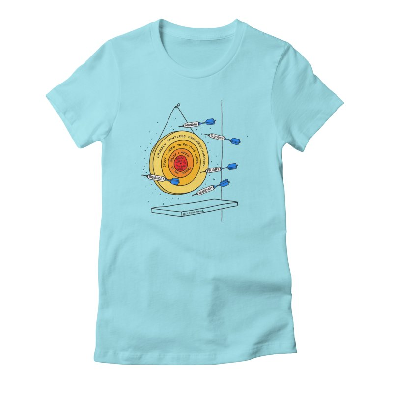 Nailed It. Women's Fitted T-Shirt by Prinstachaaz