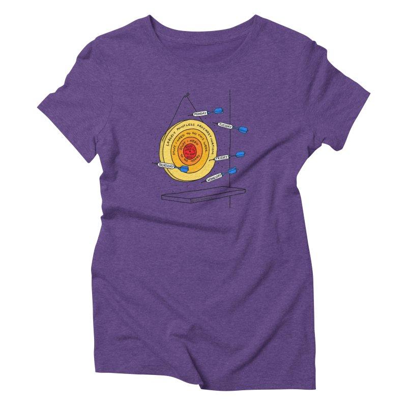 Nailed It. Women's Triblend T-Shirt by Prinstachaaz