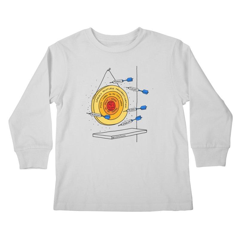 Nailed It. Kids Longsleeve T-Shirt by Prinstachaaz