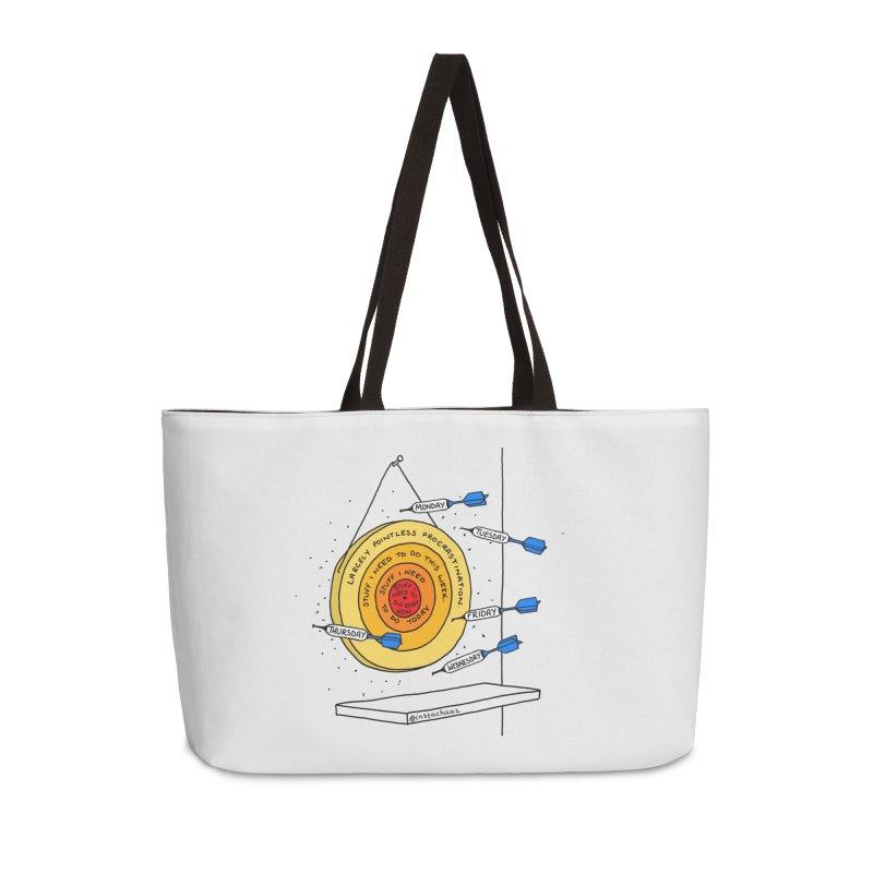 Nailed It. Accessories Weekender Bag Bag by Prinstachaaz
