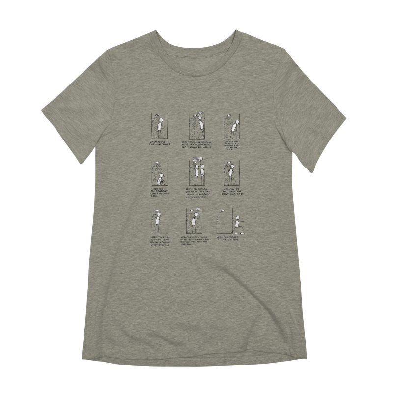 Life in the Shower. Women's Extra Soft T-Shirt by Prinstachaaz