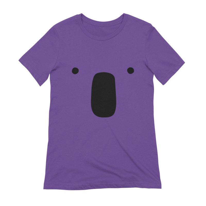 Koala Face - Bushfire Relief. Women's Extra Soft T-Shirt by Prinstachaaz