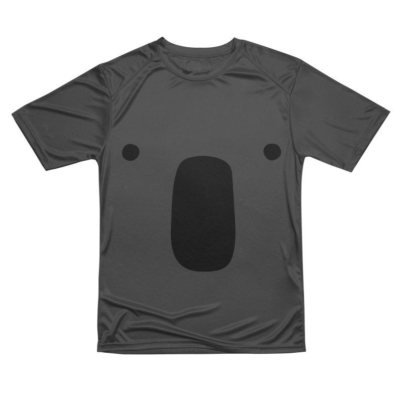 Koala Face - Bushfire Relief. Women's Performance Unisex T-Shirt by Prinstachaaz
