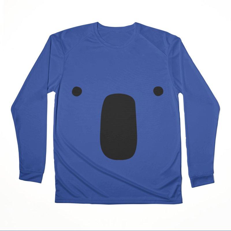 Koala Face - Bushfire Relief. Women's Performance Unisex Longsleeve T-Shirt by Prinstachaaz