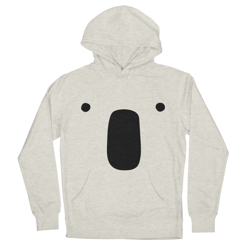 Koala Face - Bushfire Relief. Women's French Terry Pullover Hoody by Prinstachaaz