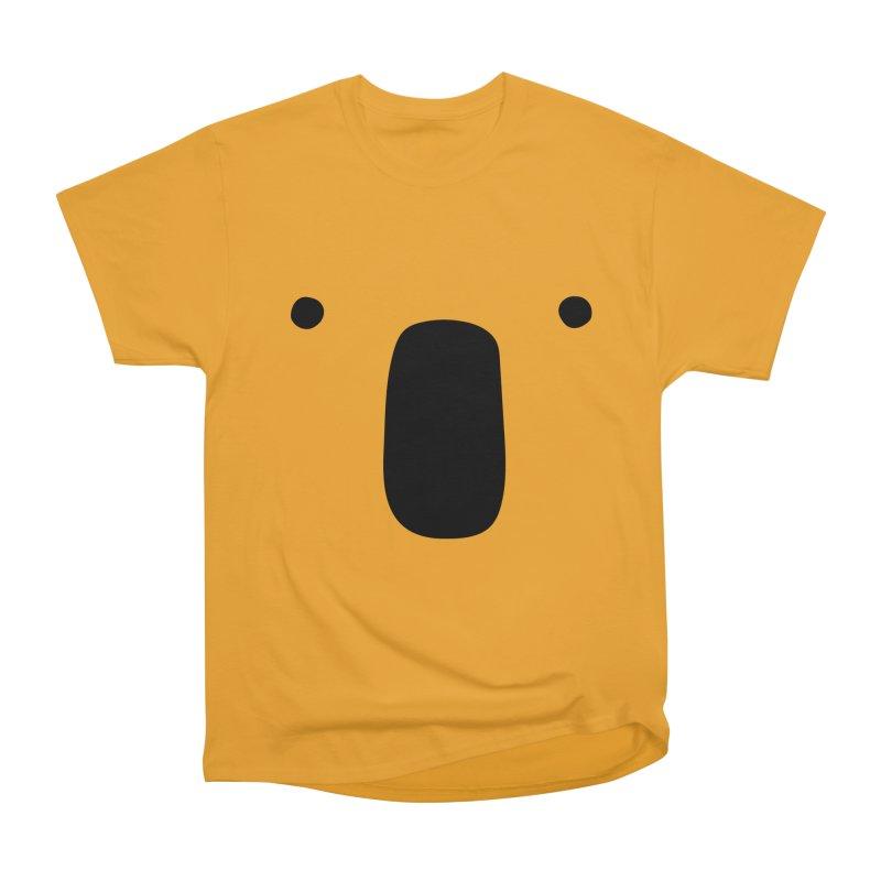 Koala Face - Bushfire Relief. Men's Heavyweight T-Shirt by Prinstachaaz