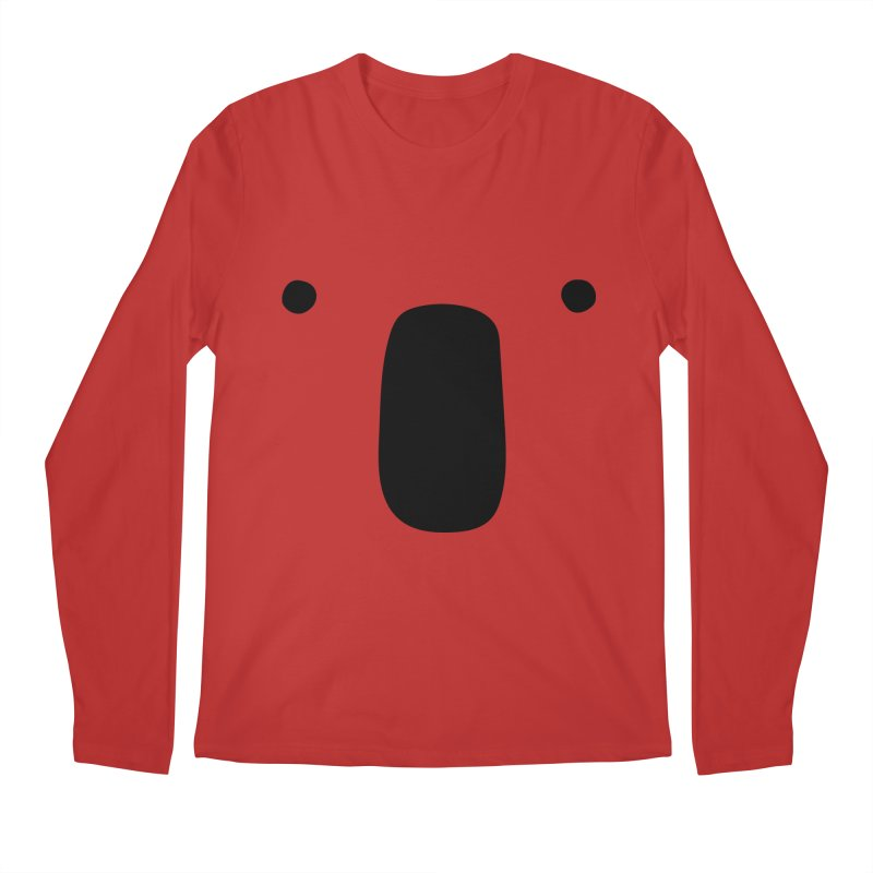 Koala Face - Bushfire Relief. Men's Regular Longsleeve T-Shirt by Prinstachaaz