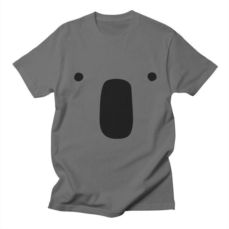 Koala Face - Bushfire Relief. Men's T-Shirt by Prinstachaaz