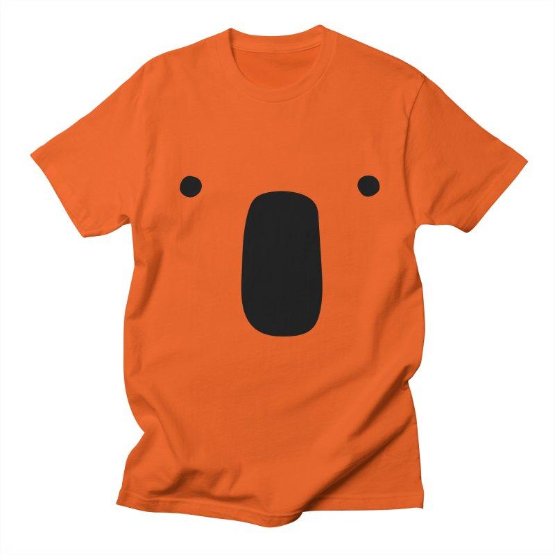 Koala Face - Bushfire Relief. Men's Regular T-Shirt by Prinstachaaz