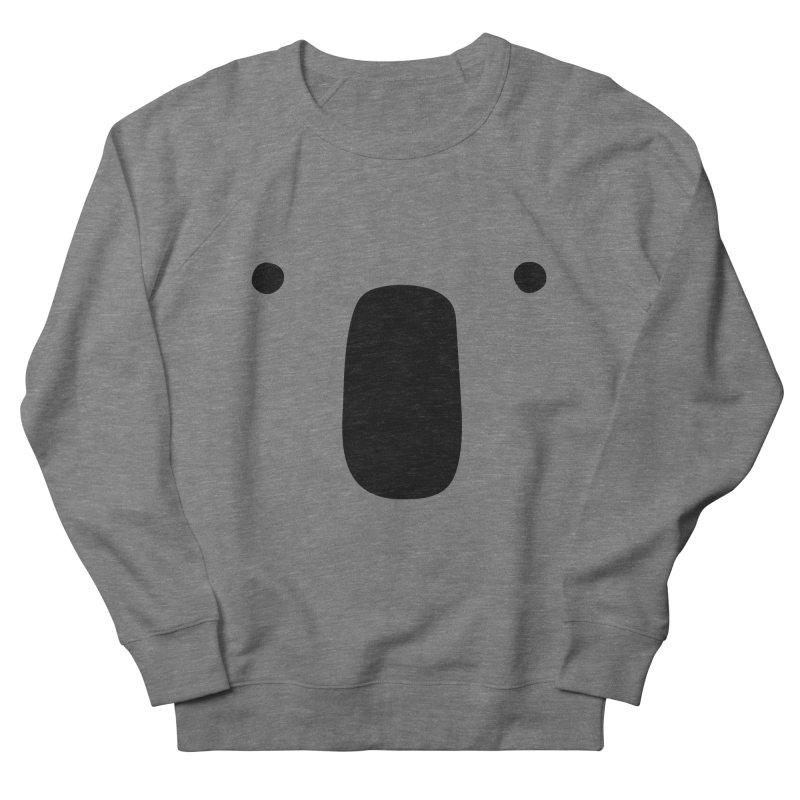Koala Face - Bushfire Relief. Men's French Terry Sweatshirt by Prinstachaaz