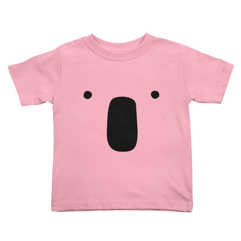 Koala Face - Bushfire Relief. Kids Toddler T-Shirt by Prinstachaaz