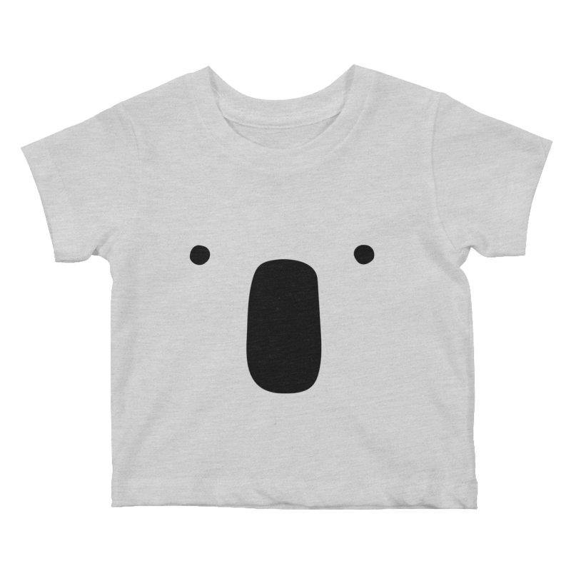 Koala Face - Bushfire Relief. Kids Baby T-Shirt by Prinstachaaz
