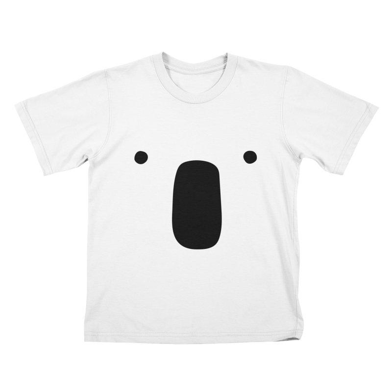 Koala Face - Bushfire Relief. Kids T-Shirt by Prinstachaaz