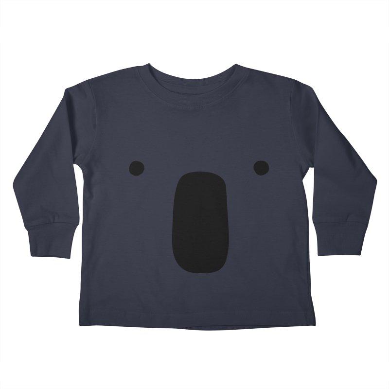 Koala Face - Bushfire Relief. Kids Toddler Longsleeve T-Shirt by Prinstachaaz