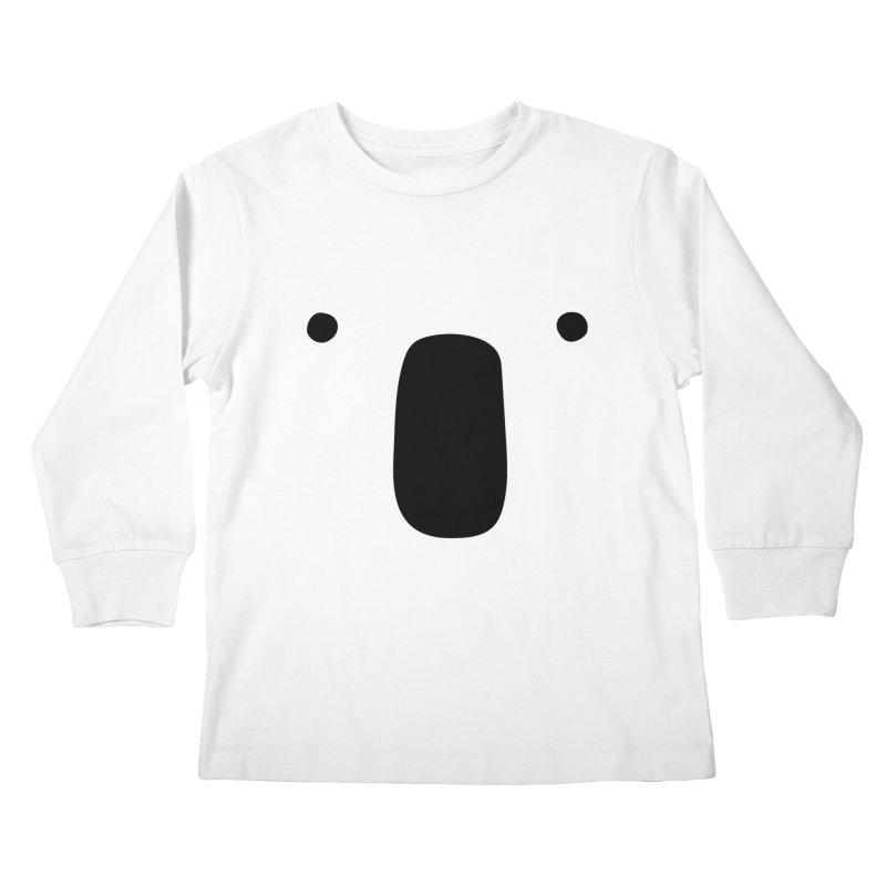 Koala Face - Bushfire Relief. Kids Longsleeve T-Shirt by Prinstachaaz