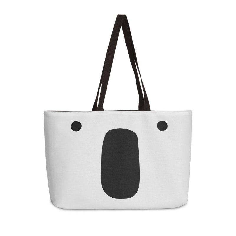 Koala Face - Bushfire Relief. Accessories Weekender Bag Bag by Prinstachaaz