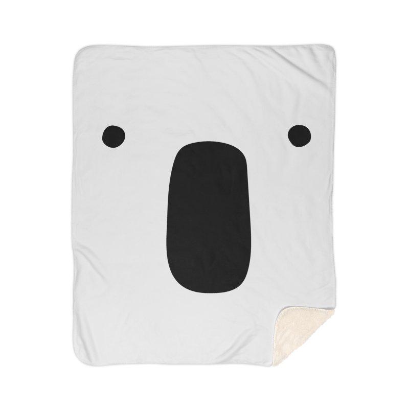 Koala Face - Bushfire Relief. Home Sherpa Blanket Blanket by Prinstachaaz