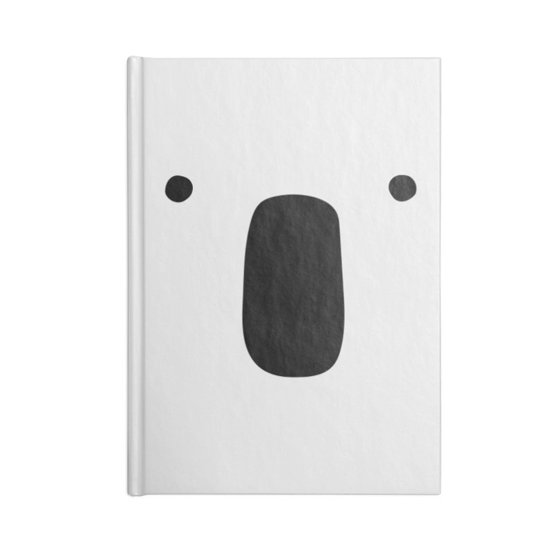 Koala Face - Bushfire Relief. Accessories Blank Journal Notebook by Prinstachaaz