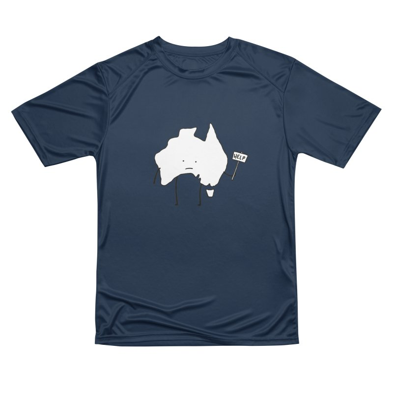 Bushfire Relief Men's Performance T-Shirt by Prinstachaaz