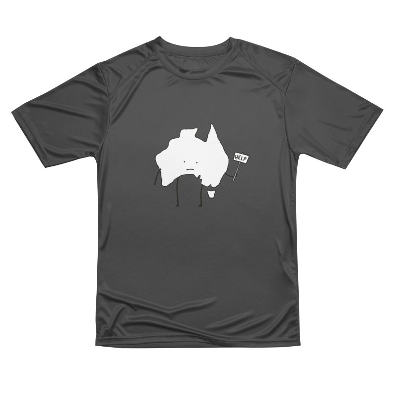 Bushfire Relief Women's Performance Unisex T-Shirt by Prinstachaaz