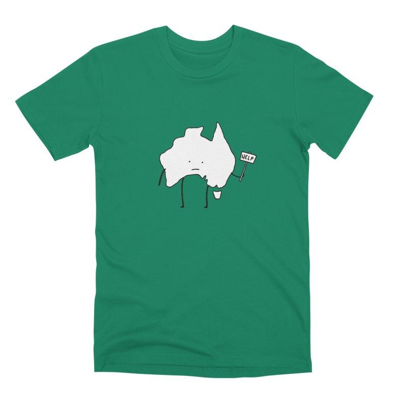 Bushfire Relief Men's Premium T-Shirt by Prinstachaaz